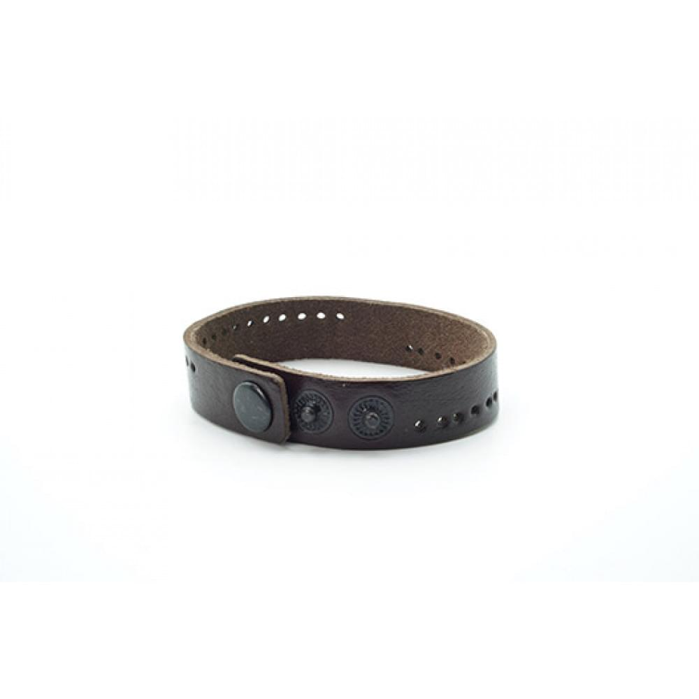 Кожаный браслет Валенсия, 15мм BR-k-1513