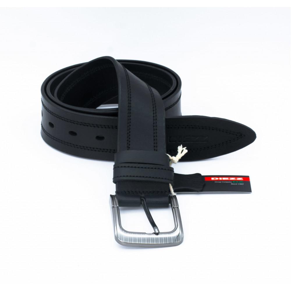 Джинсовый ремень (45 мм) черная нить RX-h-0114