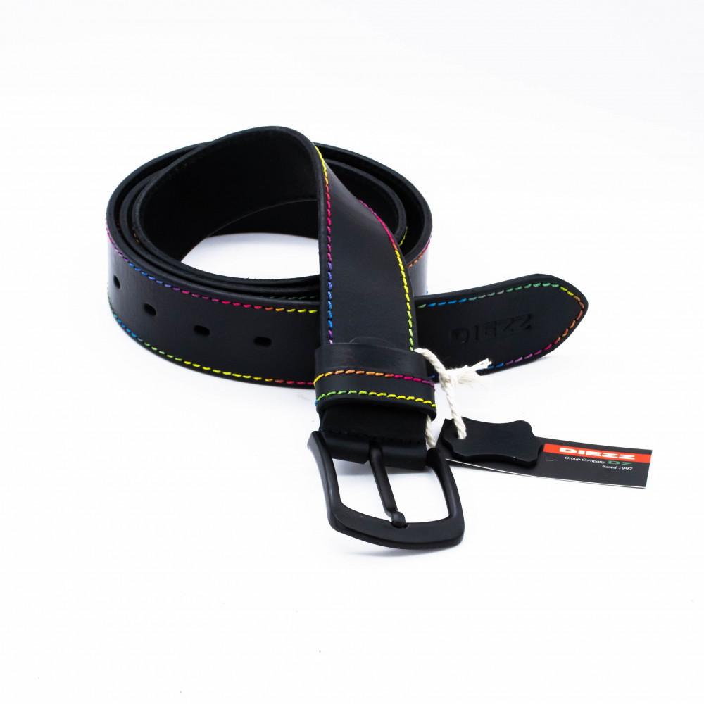 Ремень джинсовый 40 мм, цветная нить TN-h-0511
