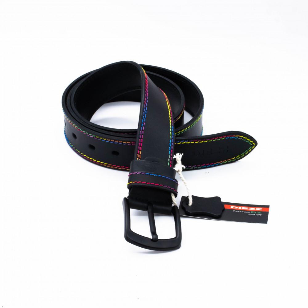 Ремень джинсовый 40 мм, цветная нить TN-h-0512