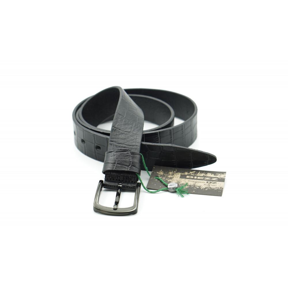 Ремень брючный кожаный 35 мм, Италия IT-h-0045