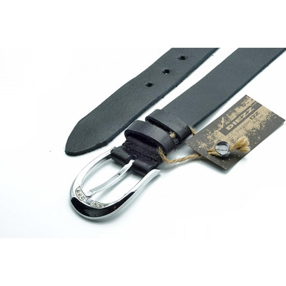 Ремень джинсовый 35 мм черный эксклюзивная кожа – Испания ES-h-0131