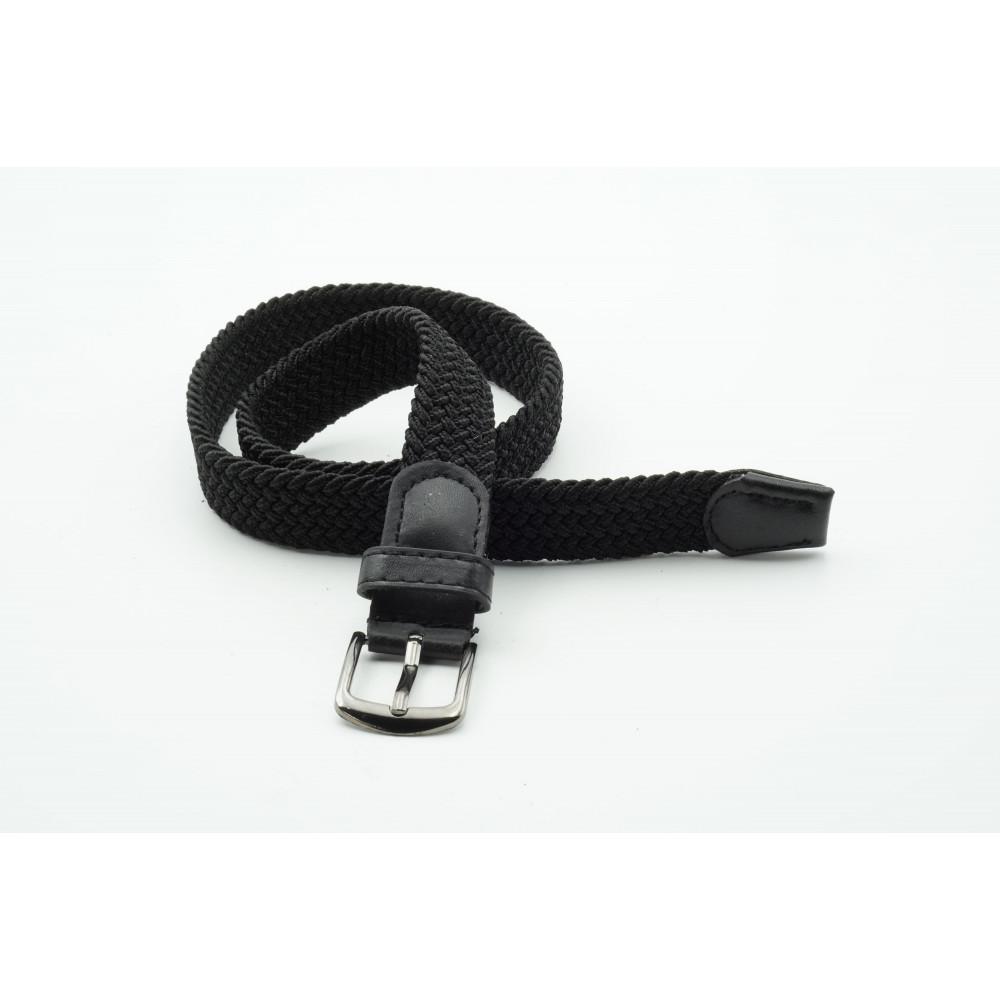 Ремень детский, черный, резинка KD-h-0010