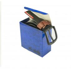 Коробка синяя 003