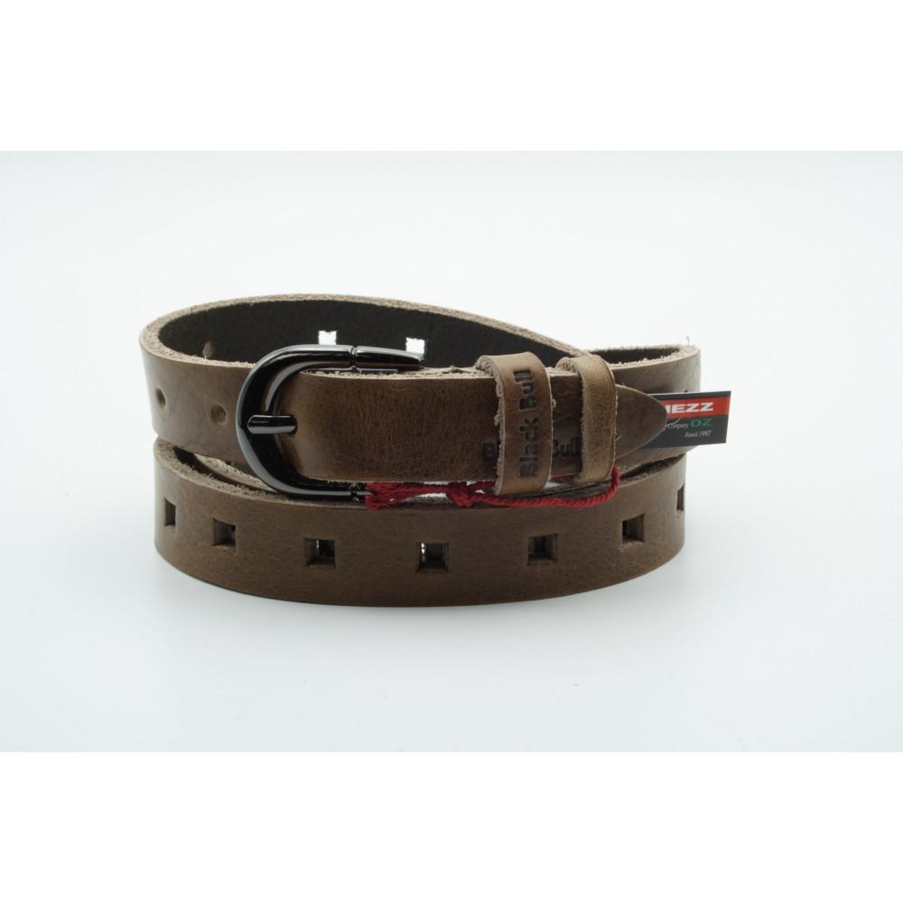 Ремень джинсовый 25 мм, Гранж – Италия GR-k-0050