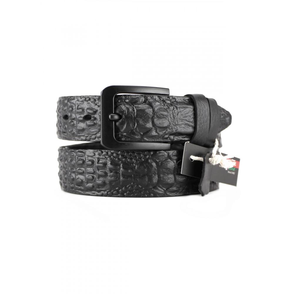 Ремень джинсовый 3D рептилия 40 мм FL-h-0147