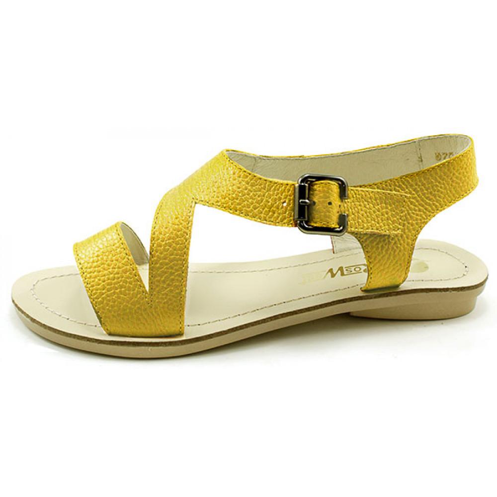 Женские босоножки на низком каблуке арт. 047