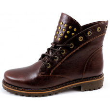 Женские ботинки на шнурках арт. 3078-2