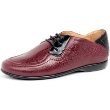 Женские туфли на шнуровке с маленьким каблуком арт. 3084