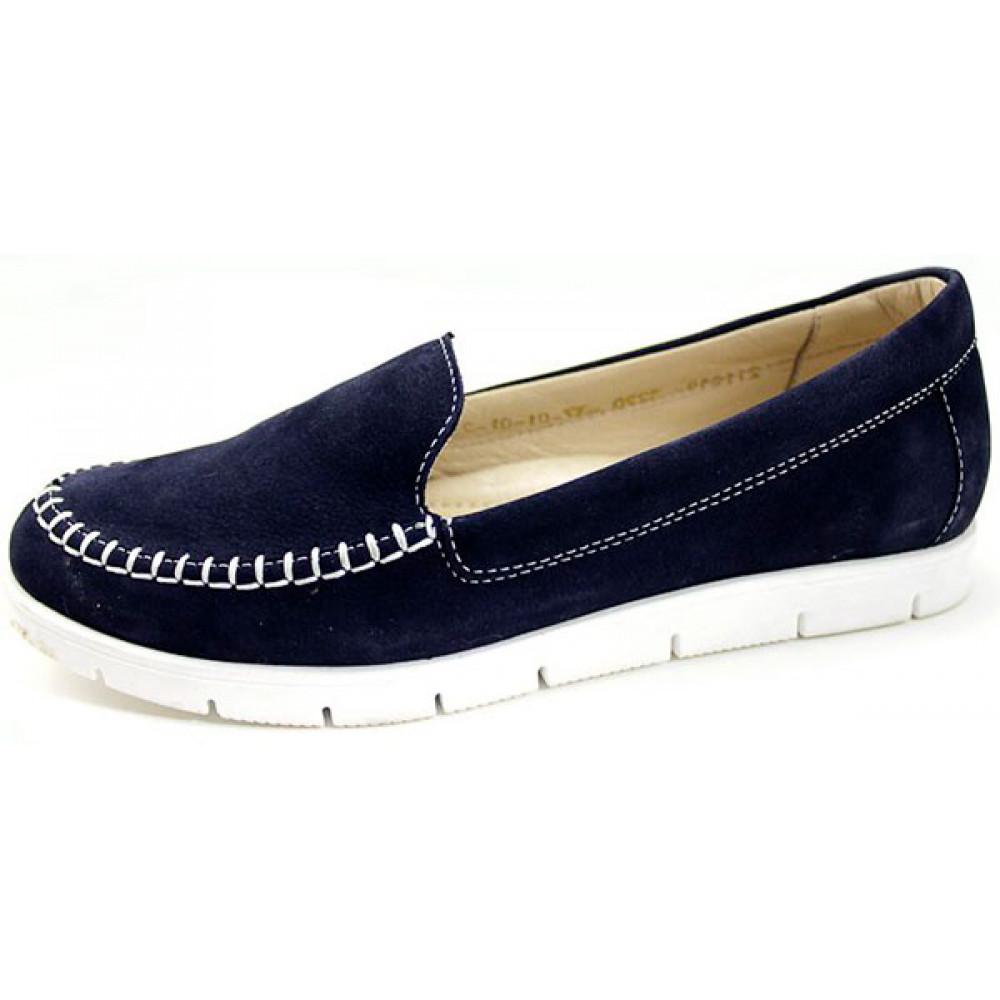 Женские туфли летние на плоской подошве арт. 3220