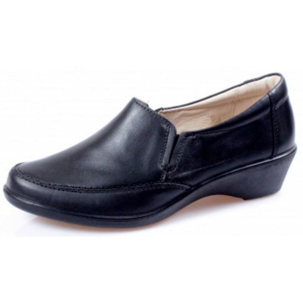 Женские туфли на низком каблуке арт. 623